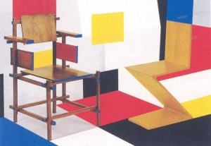 Putting on de Stijl 1979 Richard Hamilton 1922-2011 Presented by Klaus Anschel in memory of his wife Gerty 2008 http://www.tate.org.uk/art/work/P79730